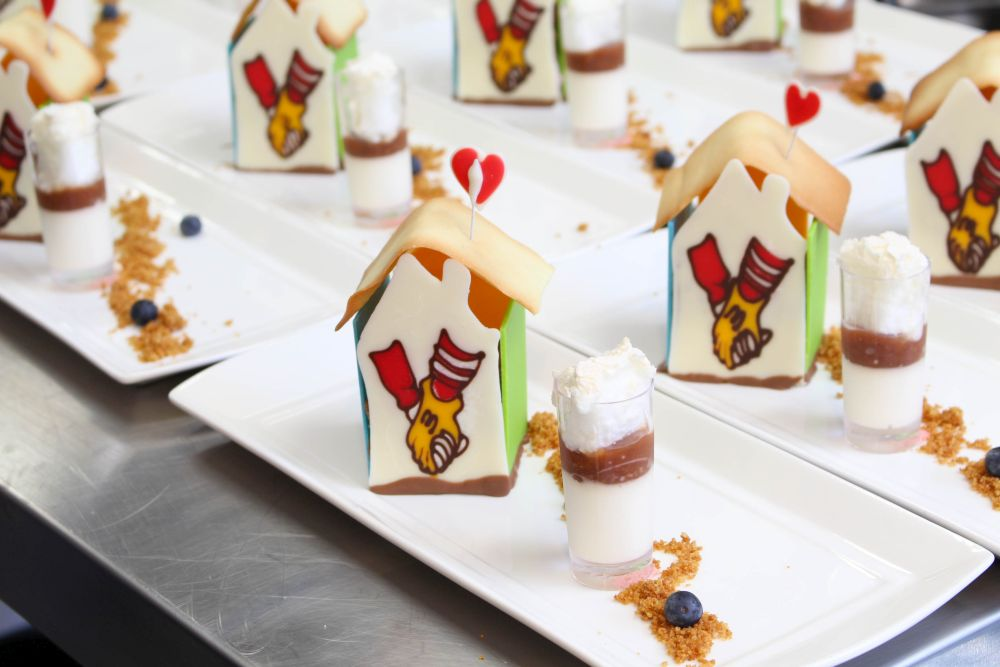 ronald mcdonald house perth decorated desserts