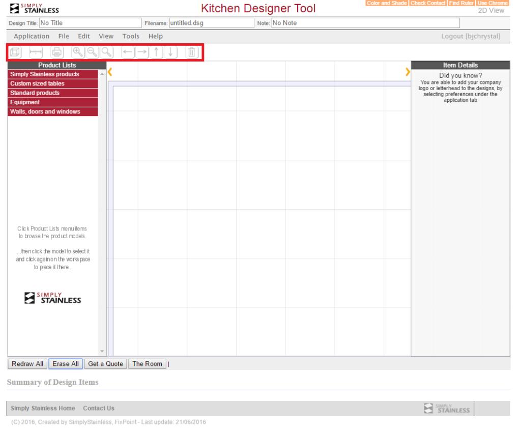 Kitchen designer tool user guide - step 4